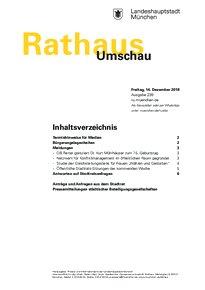 Rathaus Umschau 239 / 2018