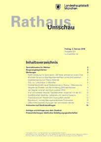 Rathaus Umschau 24 / 2018
