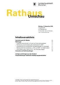 Rathaus Umschau 240 / 2018