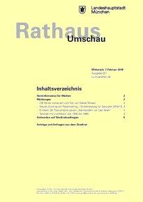 Rathaus Umschau 27 / 2018