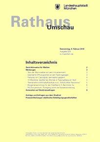 Rathaus Umschau 28 / 2018