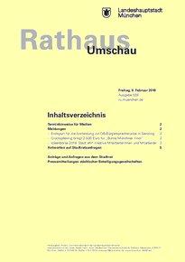 Rathaus Umschau 29 / 2018