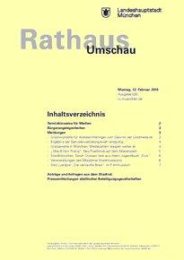 Rathaus Umschau 30 / 2018
