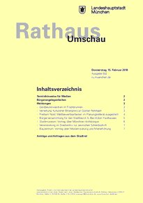 Rathaus Umschau 32 / 2018