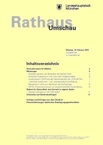 Rathaus Umschau 34 / 2018