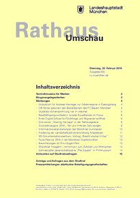 Rathaus Umschau 35 / 2018