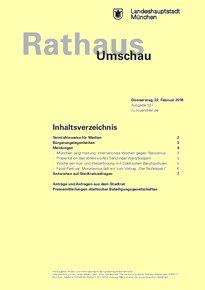 Rathaus Umschau 37 / 2018