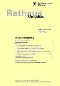 Rathaus Umschau 38 / 2018