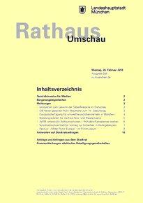 Rathaus Umschau 39 / 2018