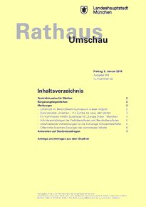 Rathaus Umschau 4 / 2018