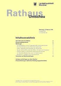 Rathaus Umschau 40 / 2018