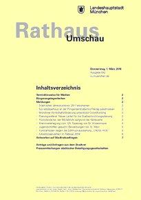 Rathaus Umschau 42 / 2018