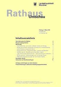 Rathaus Umschau 43 / 2018