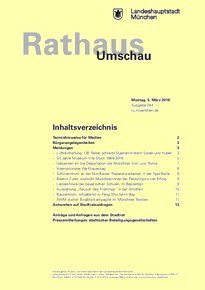Rathaus Umschau 44 / 2018