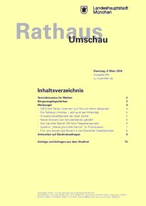 Rathaus Umschau 45 / 2018