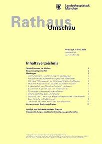 Rathaus Umschau 46 / 2018
