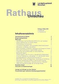 Rathaus Umschau 48 / 2018
