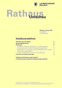 Rathaus Umschau 5 / 2018