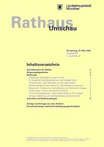 Rathaus Umschau 52 / 2018