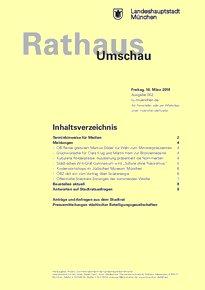 Rathaus Umschau 53 / 2018