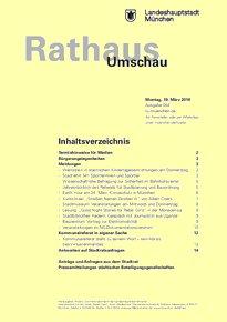 Rathaus Umschau 54 / 2018