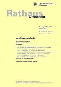 Rathaus Umschau 55 / 2018
