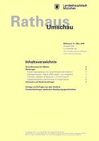 Rathaus Umschau 56 / 2018