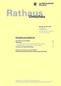 Rathaus Umschau 59 / 2018