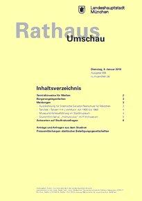Rathaus Umschau 6 / 2018