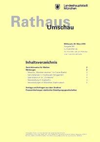 Rathaus Umschau 61 / 2018