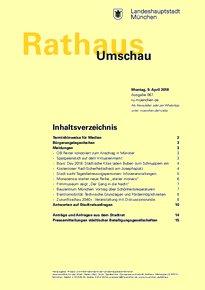 Rathaus Umschau 67 / 2018