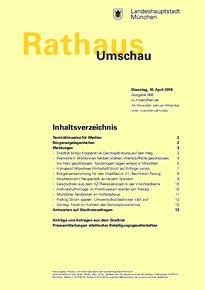 Rathaus Umschau 68 / 2018