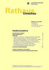 Rathaus Umschau 69 / 2018