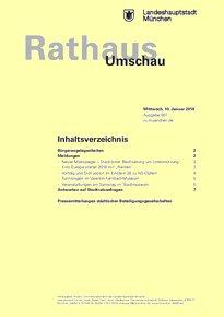 Rathaus Umschau 7 / 2018