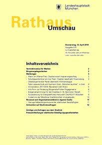 Rathaus Umschau 70 / 2018