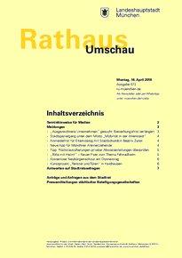 Rathaus Umschau 72 / 2018