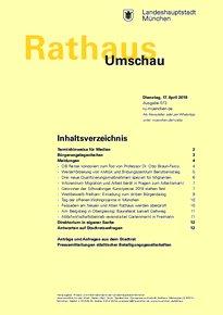 Rathaus Umschau 73 / 2018