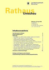 Rathaus Umschau 74 / 2018