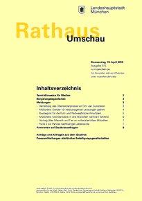 Rathaus Umschau 75 / 2018