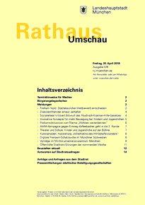 Rathaus Umschau 76 / 2018