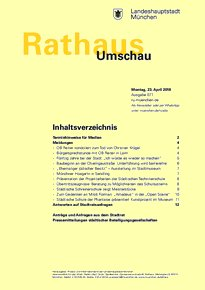 Rathaus Umschau 77 / 2018