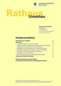 Rathaus Umschau 78 / 2018
