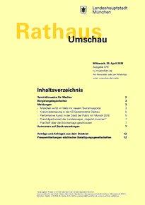 Rathaus Umschau 79 / 2018