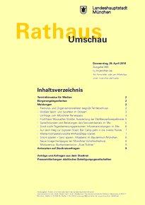 Rathaus Umschau 80 / 2018