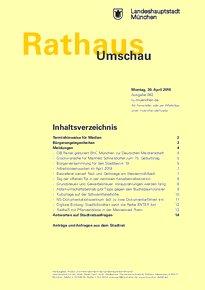 Rathaus Umschau 82 / 2018
