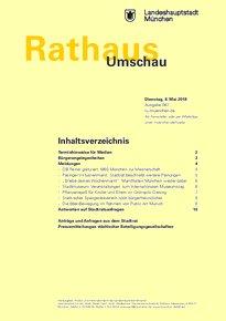 Rathaus Umschau 87 / 2018