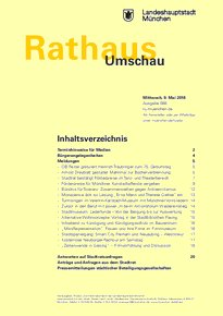 Rathaus Umschau 88 / 2018