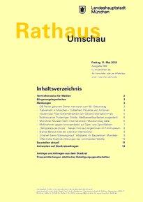 Rathaus Umschau 89 / 2018