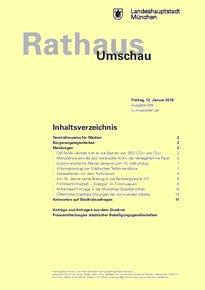 Rathaus Umschau 9 / 2018