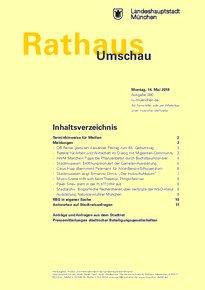 Rathaus Umschau 90 / 2018
